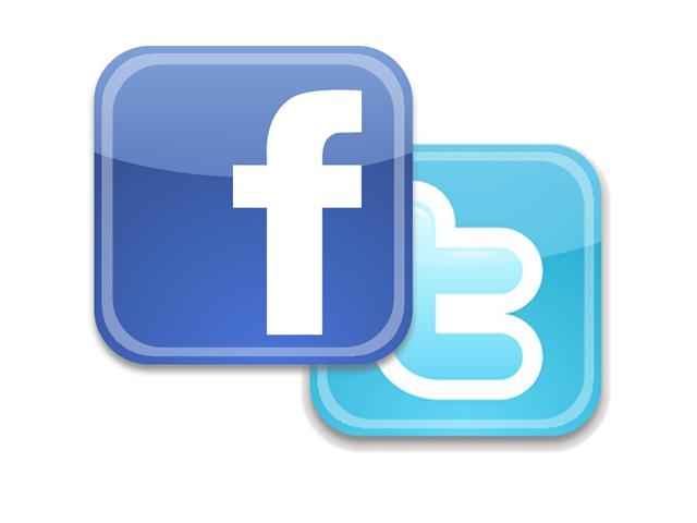 Facebook en Twitter